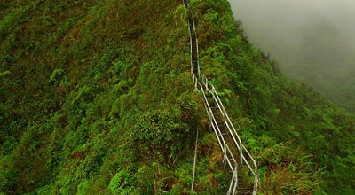 Photo of Trail Haiku Stairs at Kaneohe, HI 96744, United States