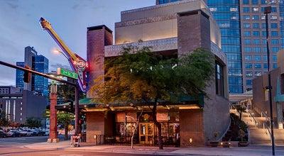 Photo of American Restaurant Hard Rock Cafe at 3 S 2nd St, Phoenix, AZ 85004, United States