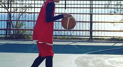 Photo of Basketball Court Α.Ο.Φ. Πορφύρας at Ακτή Θεμιστοκλέους 130, Πειραιάς 185 39, Greece