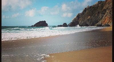 Photo of Beach Praia da Adraga at Almoçageme, Sintra, Portugal