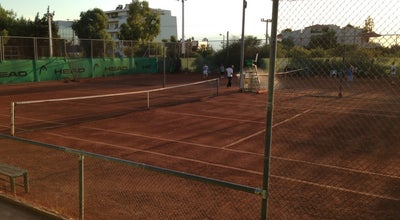 Photo of Tennis Court Glyfada Tennis Club (aixoni) at Ευγενίδου 5-17, Glyfada 166 74, Greece