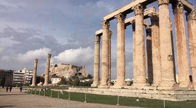 Photo of Cultural Center Temple Of Olympian Zeus at Greece Athens, Athenas, Greece
