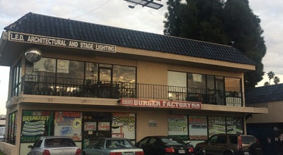 Photo of Other Venue Burger Factory at 6050 Hollywood Blvd, Los Angeles, CA 90028