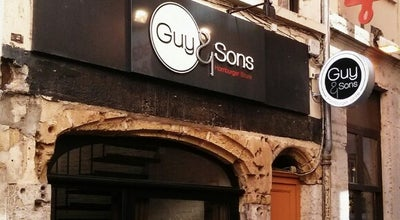 Photo of American Restaurant Guy and sons at 14 Rue Tupin, Lyon 69002, France