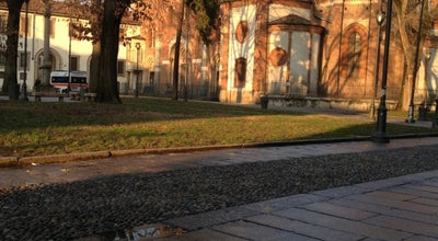Photo of Plaza Piazza Sant'Eustorgio at Piazza Sant'eustorgio, Milano, Italy