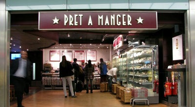 Photo of Fast Food Restaurant Pret A Manger at 77-78 St. Martin's Lane, London WC2N 4AA, United Kingdom