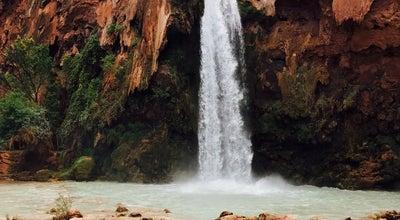 Photo of Outdoors and Recreation Havasu Waterfall at Havasu Falls Trail, Havasupai Reservation, AZ 86435, United States