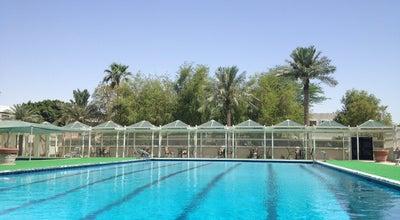 Photo of Water Park Oasis gardens pool at Al Khubar, Saudi Arabia