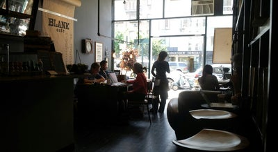 Photo of Restaurant Blank Cafe at 25 Broadway, Brooklyn, NY 11249, United States