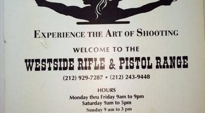 Photo of Gun Range West Side Rifle & Pistol Range at 20 W 20th St, New York, NY 10011, United States