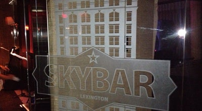 Photo of Nightclub Skybar at 269 West Main St # 900, Lexington, KY 40507, United States