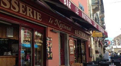 Photo of French Restaurant Le National - Brasserie at 3, Rue Du Docteur Paccard, Chamonix 74400, France