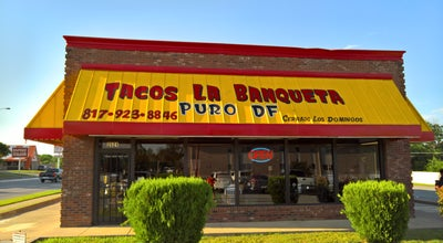 Photo of Mexican Restaurant Tacos La Banqueta Puro D F at 2621 Hemphill St, Fort Worth, TX 76110, United States