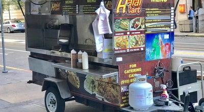 Photo of Food Truck Halal Cart at San Francisco, Ca, United States