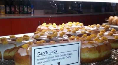 Photo of American Restaurant Von Doughnuts at 713 Danforth Ave, Toronto M4J 1L2, Canada