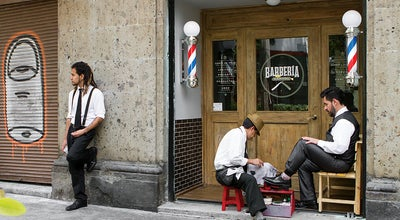 Photo of Salon / Barbershop Barbería Capital (Roma) at Monterrey 118 B, Ciudad de México 06700, Mexico