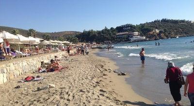 Photo of Beach Kuştur Plajı at Kuşadası, Turkey