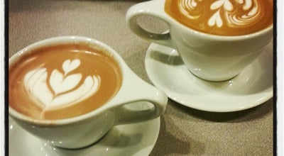 Photo of American Restaurant Jubala Village Coffee at 8450 Honeycutt Rd, Raleigh, NC 27615, United States