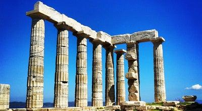Photo of Historic Site Ναός Ποσειδώνα (Poseidon's Temple) at Ακρωτήρι Σουνίου, Σούνιο, Greece