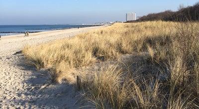 Photo of Beach Warnemünde Strand mit Feuerstelle at Germany