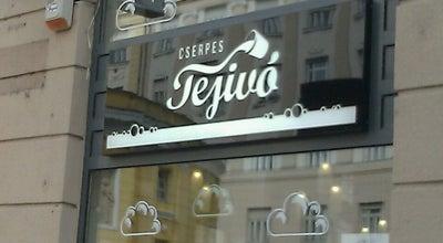 Photo of Snack Place Cserpes Tejivó at Corvin Köz, Budapest 1082, Hungary