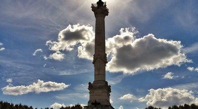 Photo of Monument / Landmark Quinconces Esplanade (Esplanade des Quinconces) at Esplanade Des Quinconces, Bordeaux 33000, France