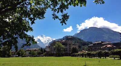 Photo of Town Interlaken at Interlaken 3800, Switzerland
