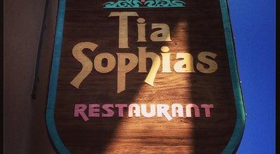 Photo of Mexican Restaurant Tia Sophia's at 210 W San Francisco St, Santa Fe, NM 87501, United States
