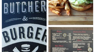 Photo of American Restaurant Butcher & Burger at 1021 W Armitage Ave, Chicago, IL 60614, United States