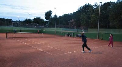 Photo of Tennis Court Tennis Club Rhodia Vaise at 140 Avenue Barthelemy Buyer, Lyon 69005, France