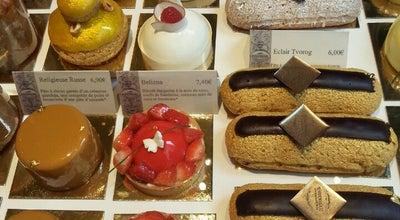 Photo of Modern European Restaurant Cafe Pouchkine - Place des Vosges at 2 Rue Des Francs Bourgeois, Paris 75003, France