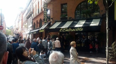 Photo of French Restaurant L'entrecote at 15 Boulevard De Strasbourg, Toulouse 31000, France