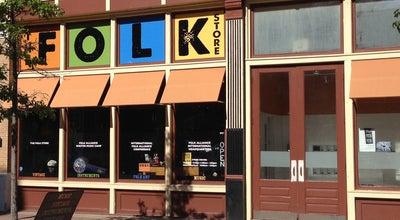 Photo of Music Store The Folk Store at 509 Delaware St, Kansas City, MO 64105, United States