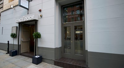 Photo of English Restaurant The Stage Door at 97 Oxford Street, Manchester M1 6FT, United Kingdom