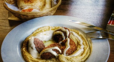 Photo of Mediterranean Restaurant Hummus Bar at Ul. Zelazna 64, Warsaw 00-866, Poland