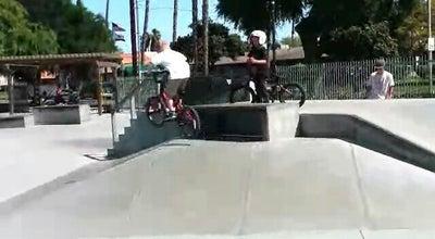 Photo of Skate Park Hunt Skate Park at 4015 Jackson St, Riverside, CA 92503, United States