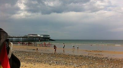 Photo of Beach Cromer Beach at Cromer, United Kingdom