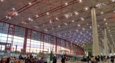 Photo of Airport Beijing Capital Int'l Airport 北京首都国际机场 (PEK) at Airport Expressway 机场高速, Beijing, Be 100621, China