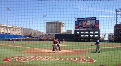 Photo of Baseball Stadium Southwest University Park at 1 Ball Park Plz, El Paso, TX 79901, United States
