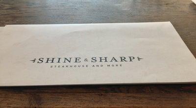 Photo of Steakhouse Shine & Sharp at 65 Yigal Alon Street, Tel Aviv, Israel