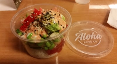 Photo of Seafood Restaurant Aloha Poke Co at 131 N Clinton St, Chicago, IL 60661, United States