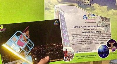 Photo of Theme Park Edge Coaster, Sky Extreme Adventure at Fuente Osmena, Cebu, Philippines