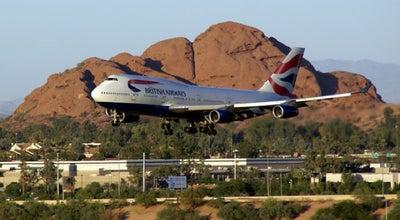 Photo of Airport Phoenix Sky Harbor International Airport (PHX) at 3400 E Sky Harbor Blvd, Phoenix, AZ 85034, United States