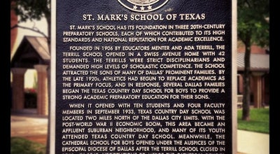 Photo of Other Venue St Mark's School of Texas at 10600 Preston Rd, Dallas, TX 75230