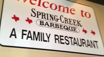 Photo of BBQ Joint Spring Creek Barbeque at 3335 N President George Bush Hwy, Garland, TX 75040, United States