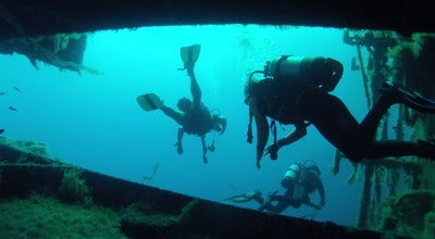"Photo of Dive Spot ""Zenobia"" Ship Wreck at Mediterranean Sea, Larnaca, Cyprus"