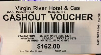 Photo of Casino Virgin River Hotel Casino at 100 E Pioneer Blvd, Mesquite, NV 89027, United States