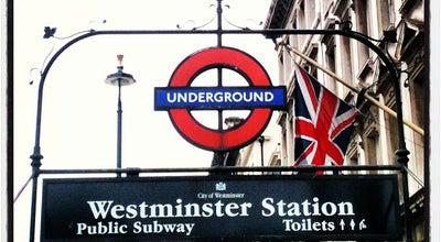 Photo of Subway Westminster London Underground Station at Bridge St, London SW1A 2JR, United Kingdom