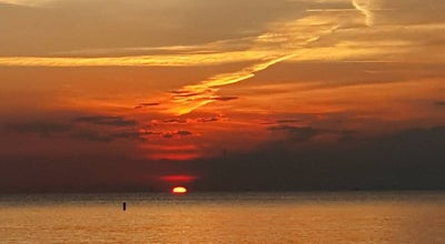 Photo of Beach Sunset. Beach At Sunset Plateau at 8470 W Gulf Blvd, Treasure Island, FL 33706, United States