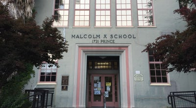 Photo of School Malcolm X Arts And Academics Magnet School at 1731 Prince St, Berkeley, CA 94703, United States